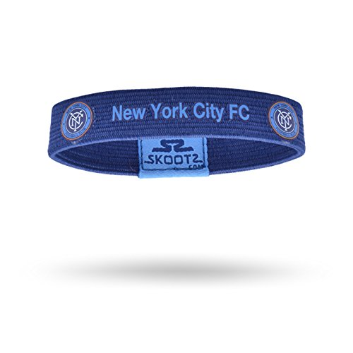 Officially Licensed MLS Wristbands (Small, NYC Football (Officially Licensed Wristbands)
