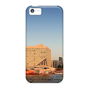 Hot Snap-on Dubai Creekscape Hard Covers Cases/ Protective Cases For Iphone 5c