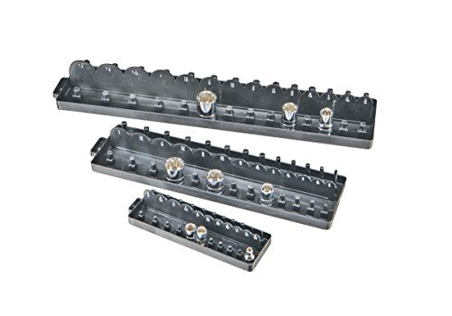 SAE Socket Tray/Organizer Set of 3