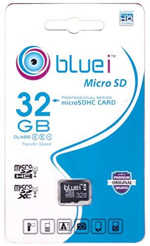 Bluei 32 GB Class 10 microSDHC Memory Card