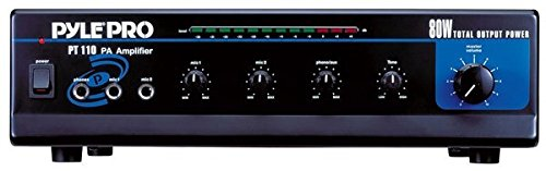 Pyle PT110 80 Watt Microphone Amplifier