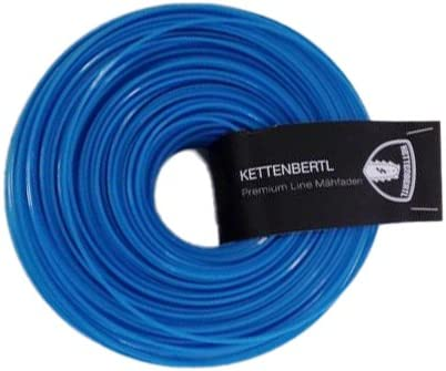 Kettenbertl Premium M/ähfaden vierkant 3,3 mm x 20 m