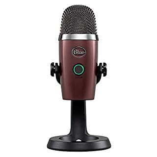 Blue Yeti Nano Premium USB Mic for Recording and Streaming - Red Onyx (B07DV2WK77) | Amazon Products