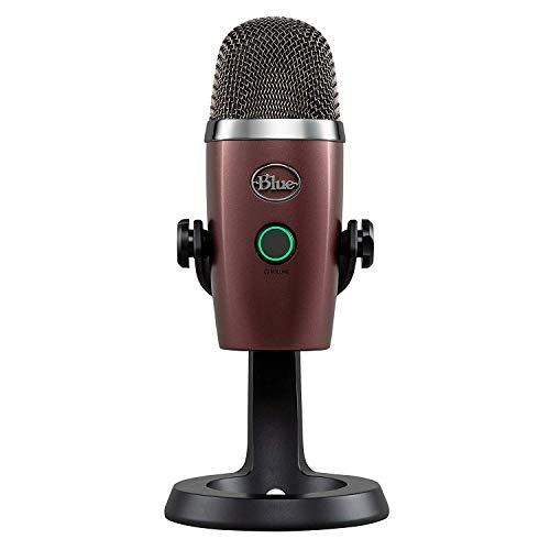 Blue Yeti Nano Premium USB Mic for Recording and Streaming - Red - Usb Mic Snowball