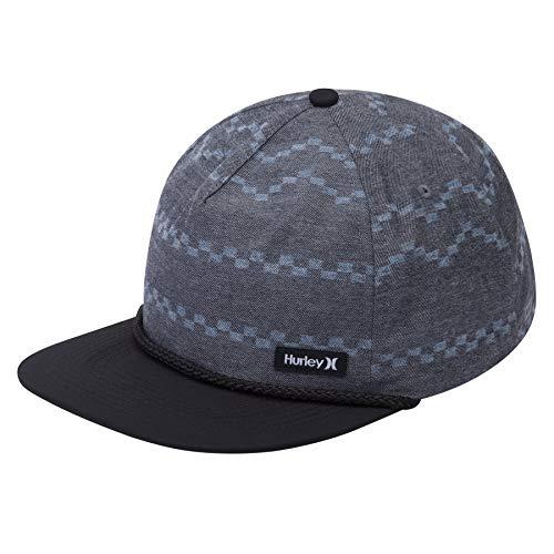 Hurley MHA0008350 Men's Dri-Fit Pismo Hat, Black - Qty