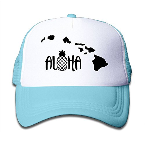 - Aloha Hawaii 1-1 On Boys and Girls Trucker Hat, Youth Toddler Mesh Hats Baseball Cap
