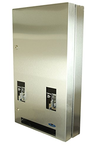 Frost 608-3-0.50 Napkin and Tampon Dispenser, Metallic by Frost