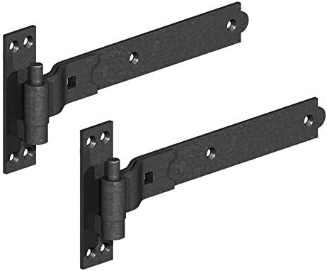 """1 x 3//4/"""" Black Gate Pin for Heavy Duty Hooks and Bands Gate Shed Door Hinges"""