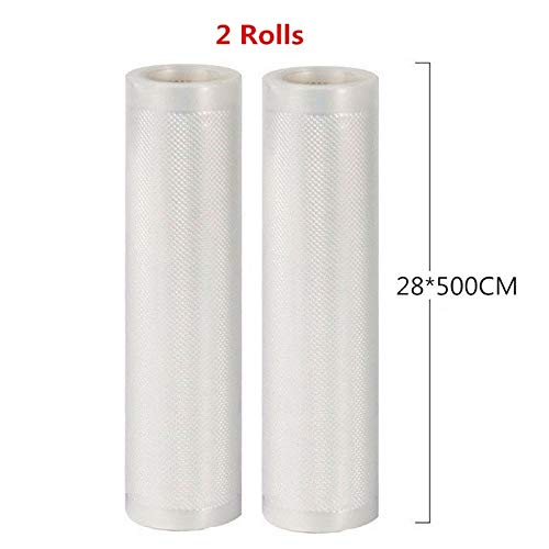 Vacuum Bags For Food Storage Vacuum Sealer Food Saver Bag 12x500 15x500 20x500 25x500 28x500 30x500 Fresh World Vacuum Packaging Rolls by PPH3 Shine (28x500 cm)