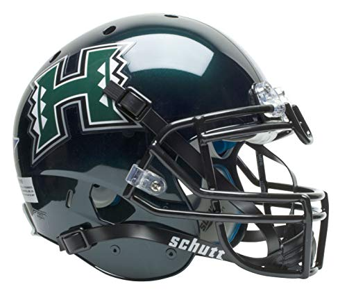 Warriors Hawaii Helmet (NCAA Hawaii Rainbow Warriors Authentic XP Football Helmet)