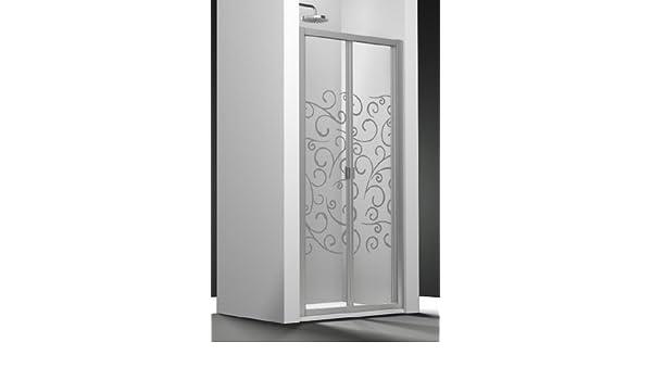 Puerta de ducha plegable Duna cristal Securit transparente Sablé: Amazon.es: Bricolaje y herramientas