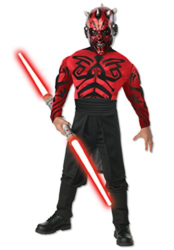 Halloween Costumes Rentals (Star Wars Darth Maul Deluxe Costume Kit -)