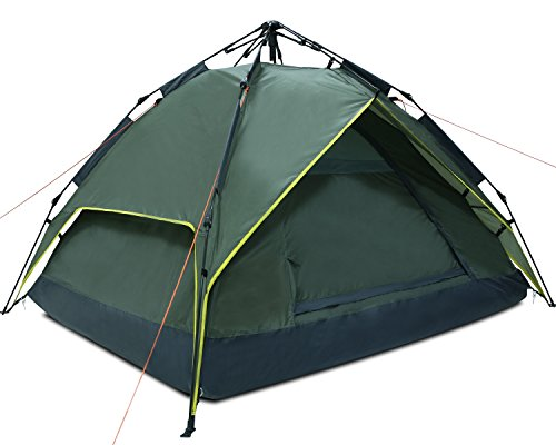 Argus-Le-Automatic-Camping-Tent-2-3-Person-4-Season-Waterproof-Backpacking-Tent-With-Sun-Shelter-Instant-Setup-Family-Tents-With-Portable-Carry-Bag-For-Camping-Backpacking-Beach-Hiking