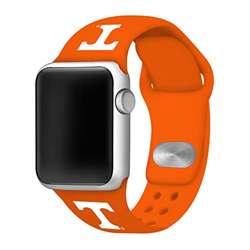 Affinity Bands Tennessee Volunteers Silicone Sport Band Compatible with Apple Watches - Band ONLY (Orange, 42mm/44mm)