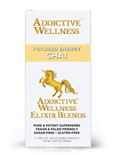 Addictive Wellness Elixir Blends - CHAI Sugar-Free Superherb Drink Mix (1 Packet)