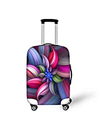 18/20/24/28 Floral Stylish Spandex Outdoor Travel Luggage Suitcase Cover