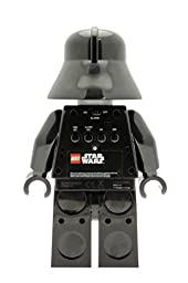 LEGO Kids\' 9002113 Star Wars Darth Vader Mini-Figure Light Up Alarm Clock (9.5 Inches Tall)
