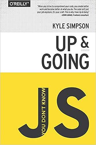 You Don't Know Js: Up & Going por Kyle Simpson epub