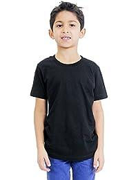 Youth Organic Short Sleeve Crew Neck Tee Boy / Girl T-shirt Royal Apparel