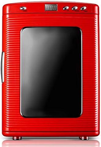カー用品冷蔵庫ポータブル,ミュート軽量省エネデュアルユース冷却ボックスミニ冷蔵庫12V220V-のためにベッドルームバー車載旅行事務所寮アウトドアキャンプ