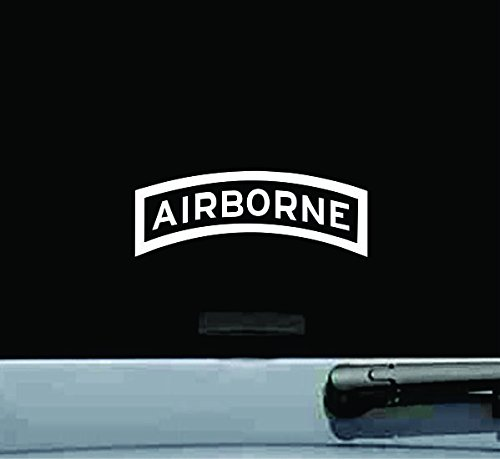 JS Artworks Airborne Tab Us Army Infantry Vinyl Decal Sticker United States