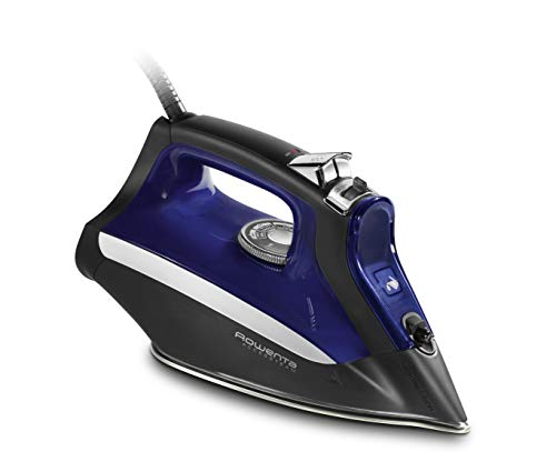 Rowenta DW2160 Acces Steam Iron with Anti Drip System and Auto Shutoff, 1700-Watts, Blue