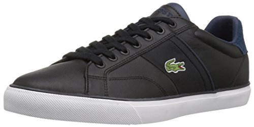 Lacoste Men's Fairlead 317 2 Sneaker, Black, 9.5 M US