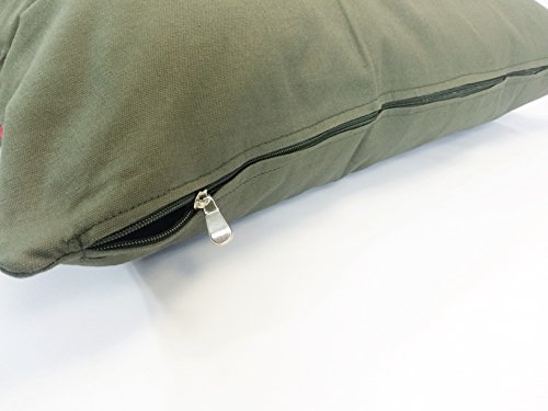 American Comfort Warehouse 47''x29'' Large Size Removable Zippered Tough Durable Green Canvas Cover Case for Small to Large Dogs - External Cover Only by American Comfort Warehouse