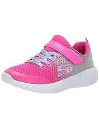 Skechers Girls GO Run 600-SPRINKLE Splash Sneakers