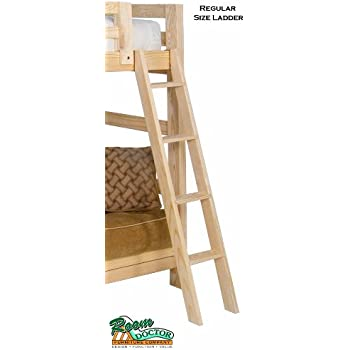 Amazon Com Bunk Bed Ladder Solid Wood Chemical Free