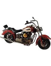 Lesser & Pavey - Lata de metal modelo – Rojo indio estilo jefe moto (36 cm) * Nuevo * en caja