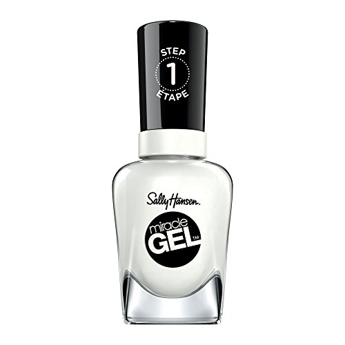 Sally Hansen - Miracle Gel Nail Color, White to Black