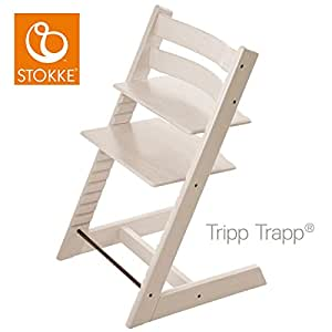 stokke trona evolutiva tripp trapp blanqueado beb. Black Bedroom Furniture Sets. Home Design Ideas