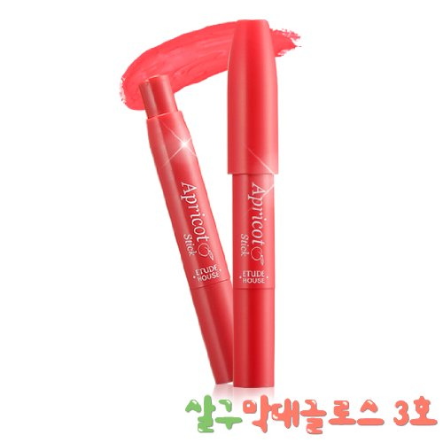 Etude House Apricot Stick Gloss #3 Fresh Apple