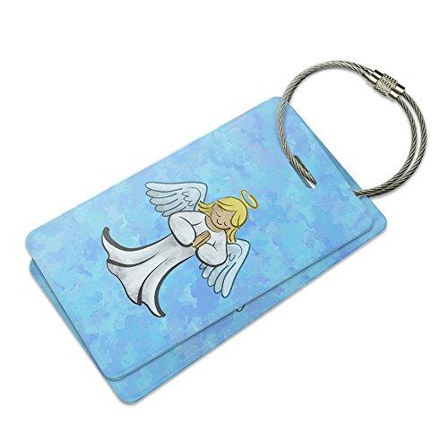 Praying Angel Suitcase Bag ID Luggage Tag Set