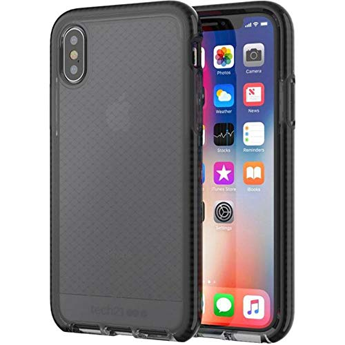 Check Tech (Evo Check Case for iPhone X - Smokey/Black)