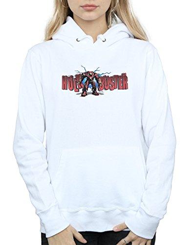 Blanco 0 Avengers Hulkbuster War Mujer Capucha 2 Infinity ZCZgxq