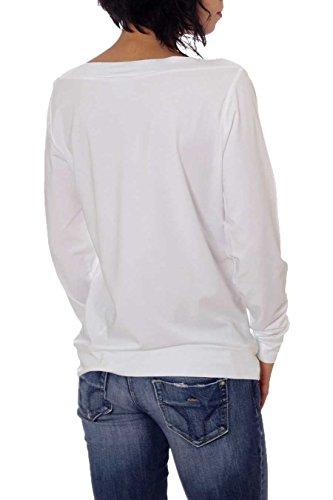 Emporio Armani - Sudadera - para mujer 1100 White