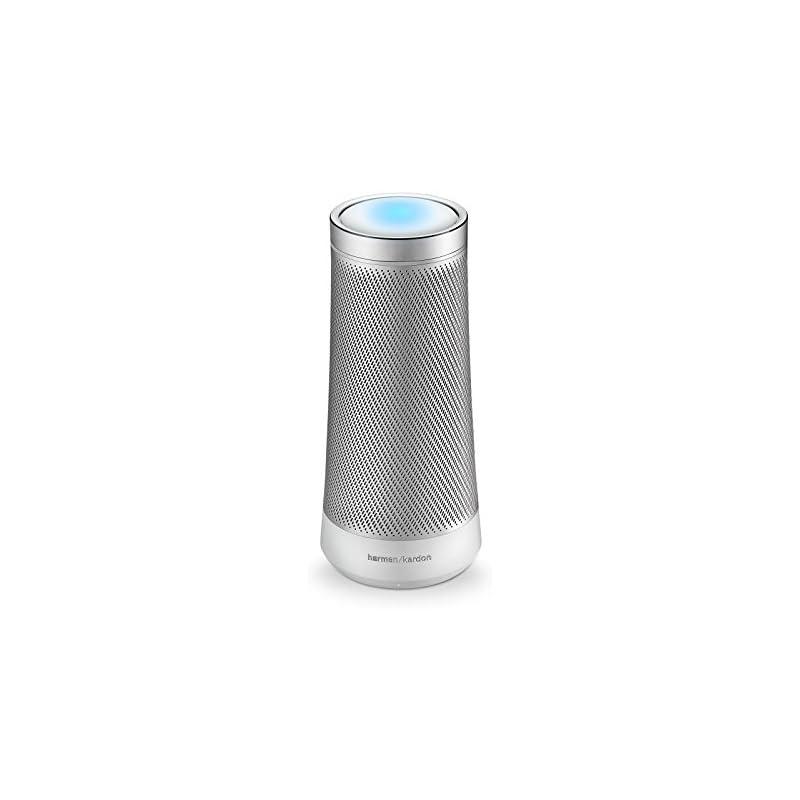 Harman Kardon Invoke Voice-Activated Speaker with Cortana (Silver)