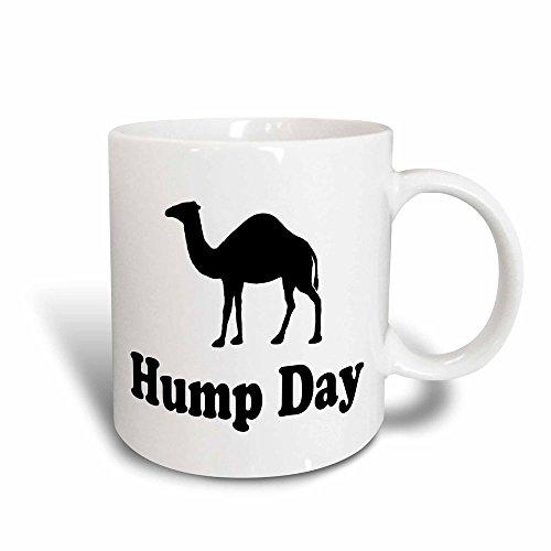 3dRose Hump Day Camel Wednesday Magic Transforming Mug, 11-Ounce