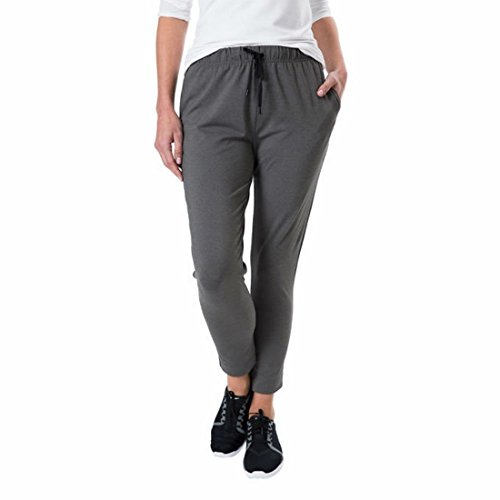 Kirkland Signature Active Pant for Women (XL, Gray)