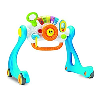 NEW! Winfun 5-in-1 Driver Grow-with-Me, Sit-to-Stand Lights and Sounds Baby Play Gym Activity Learning Walker : Baby