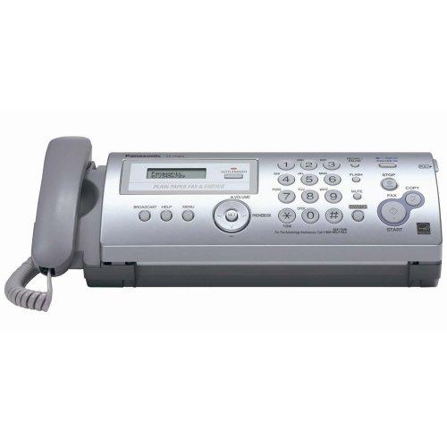 Wholesale CASE of 3 - Panasonic Plain Paper Fax/Copier w/Caller ID-Plain Paper Fax,10 Sheet Auto Feed,14''x7-9/10''4-1/5'',LGY by PAN