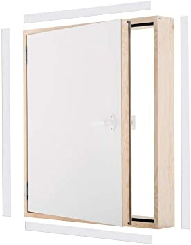 Maxi Ud=0,7 W/m2*K Oman 70x70 - Puerta lateral de madera: Amazon.es: Bricolaje y herramientas