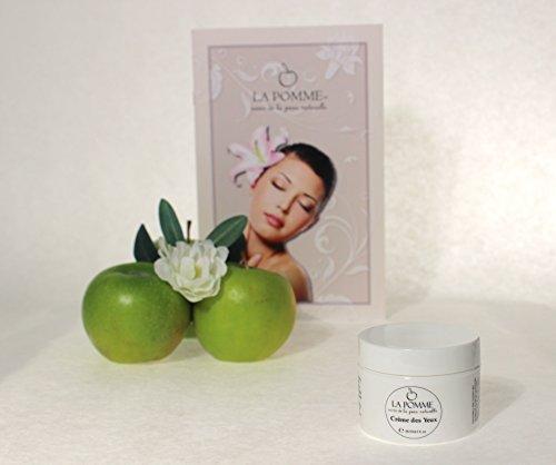 La Pomme Natural & Organic Crème Des Yeux (eye cream) 1oz