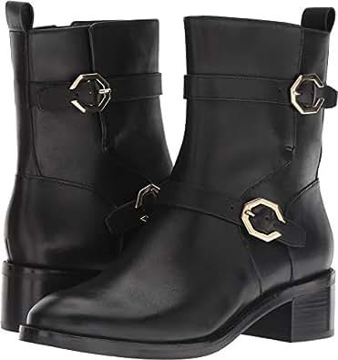 Cole Haan Womens Leela Grand Moto Boot Black Size: 5 US