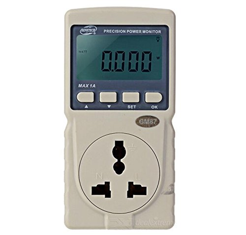 BENETECH GM87 Precision Power Monitor - Ivory White by Generic