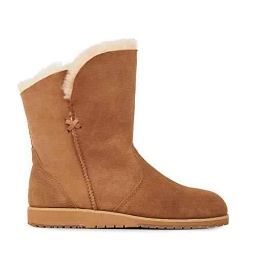 EMU Australia Womens Bells Beach Lo Winter Real Sheepskin Boots Size 8
