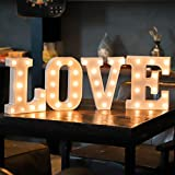 YANROO Marquee Letter Lights Number Light Arabic