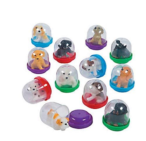 Fun Express Bulk Vending Machine Capsules with Mini Dog Puppy Figures (250 Count)